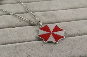 COLLANA-RESIDENT-EVIL-UMBRELLA-2-3-CIONDOLO-COSPLAY-NECKLACE-ZOMBIE-BIOHAZARD-1