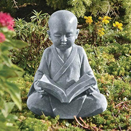 Decorative Buddha Statue Garden Sculpture Art Display Outdoor Stone Resin  12in | EBay
