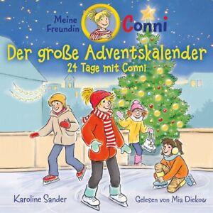 KAROLINE-SANDER-CONNI-DER-GROssE-ADVENTSKALENDER-CONNI-2-CD-NEU