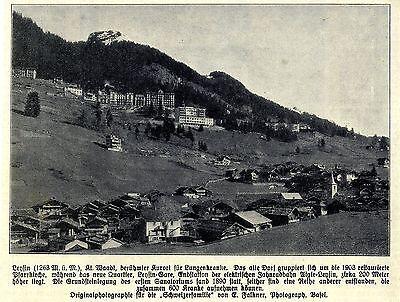 Leysin (sanatorium) Kt.waadt * Historische Aufnahme Von 1909 Elegant Und Anmutig