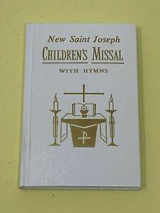 Saint-Joseph-Enfants-Missal-et-Hymnal-Neuf-Revise-Liturgie-Blanc-Livre-USA