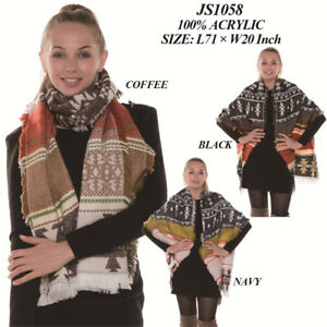 Soft-Winter-Super-Warm-Shawls-and-Wraps-Aztec-Over-Sized-Scarf