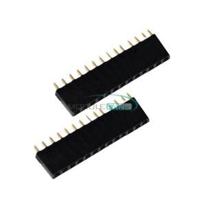 5PCS-14Pin-Single-Row-1x14-PCB-Socket-Female-2-54mm-Header