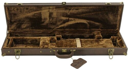 SportLock LeatherLock Takedown Deluxe O//U Shotgun Hard Case Hunting Range Case