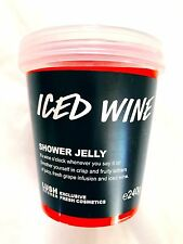Lush Cosmetics UK Kitchen - ICED WINE SHOWER JELLY - Fruity Grape Scent Rare