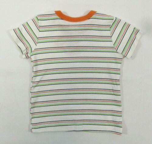Bébé garçon rayé t shirt Denim Dungarees Dinosaure Monstre tenue d/'été 6 24 65