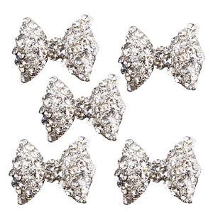 crystal-5Pcs-3D-Silver-Alloy-Rhinestones-Bow-Tie-Glitters-Nail-Art-Slices-X-DA