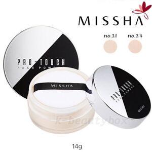 FACE-POWDER-Missha-Pro-Touch-Loose-Face-Powder-SPF15-2COLOR-Korean-Cosmetics