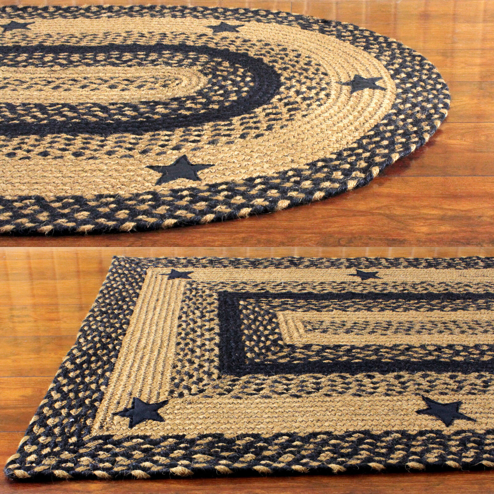 Star Jute Braided Rugs By Ihf