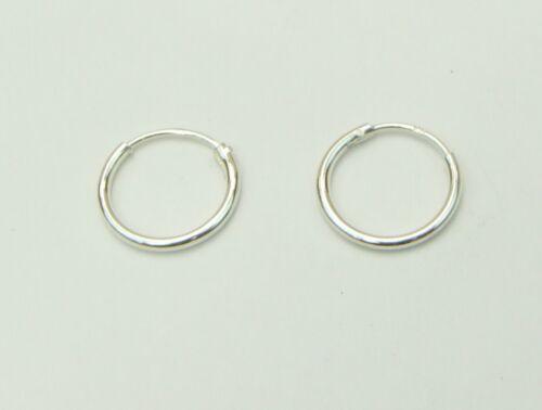 Various Sizes UK SELLER /& FREE POST Sleeper Hoop Earrings Stamped 925 Silver