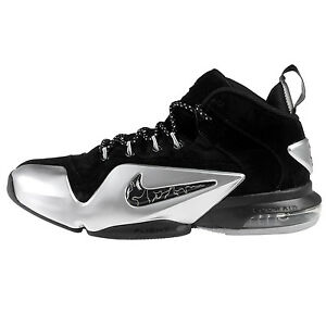 best sneakers d16dc a6b39 Image is loading Nike-Zoom-Penny-VI-Mens-749629-002-Black-