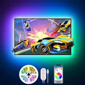 Govee - Ruban LED TV PC Bande 2M RGB USB App Contrôle Lumineuse RétroÉclairé FR