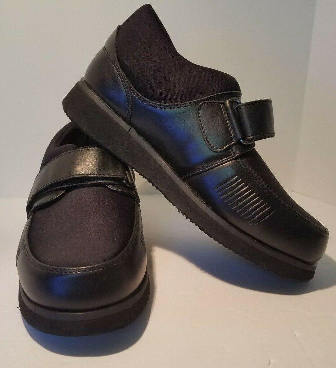Apis Mt. Emey 728-E Men's Bunion Edema Casual Shoe Size 6E Black
