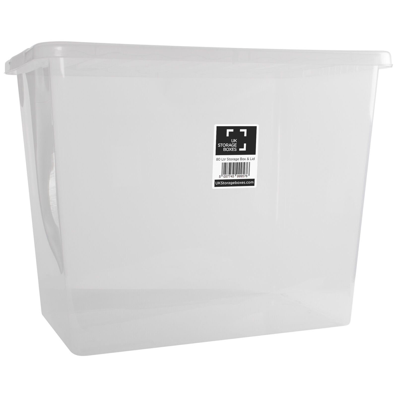 5 X Very Large Clear Plastic Storage Boxes 80 Litre/ 60cm With Lids New. | eBay  sc 1 st  eBay & 5 X Very Large Clear Plastic Storage Boxes 80 Litre/ 60cm With Lids ...