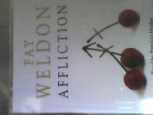 1 of 1 - Fay Weldon Affliction 2-Tape Audio Cassette Book  read by Patricia Hodge -free p