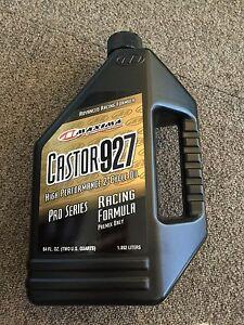 Go-Kart-Maxima-927-Oil-Caster-oil-2lt-NEW