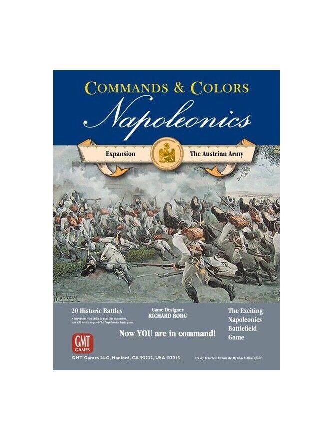 Commands & Colorees Napoleonics The Austrian Army, NEW