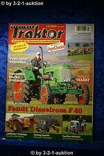 Oldtimer Traktor 1-2/09 Fendt Dieselross F 40 & Eicher ED 13/I & Hanomag R 324