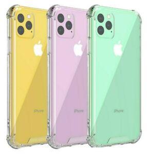 Coque pour iPhone 11 Pro XR XS 7 8 6 ANTICHOC Soft Phone COVR TPU Housse en silicone