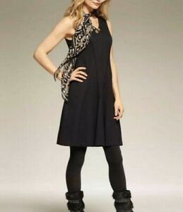 NWT-CAbi-Perfomance-Dress-3649-Black-Size-S