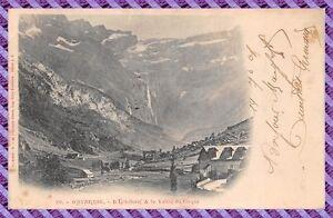 Tarjeta-Postal-Gavarnie-la-039-Hostellerie-amp-el-valle-de-del-Circo