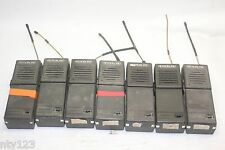 Lot Of 7 Vintage Ritron Portable Radio Walkie Talkie Aie9qzrt 453