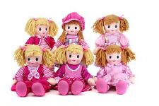 50cm Large Girlie Paws Rag Doll Baby Girls Traditional Pink Soft Toy
