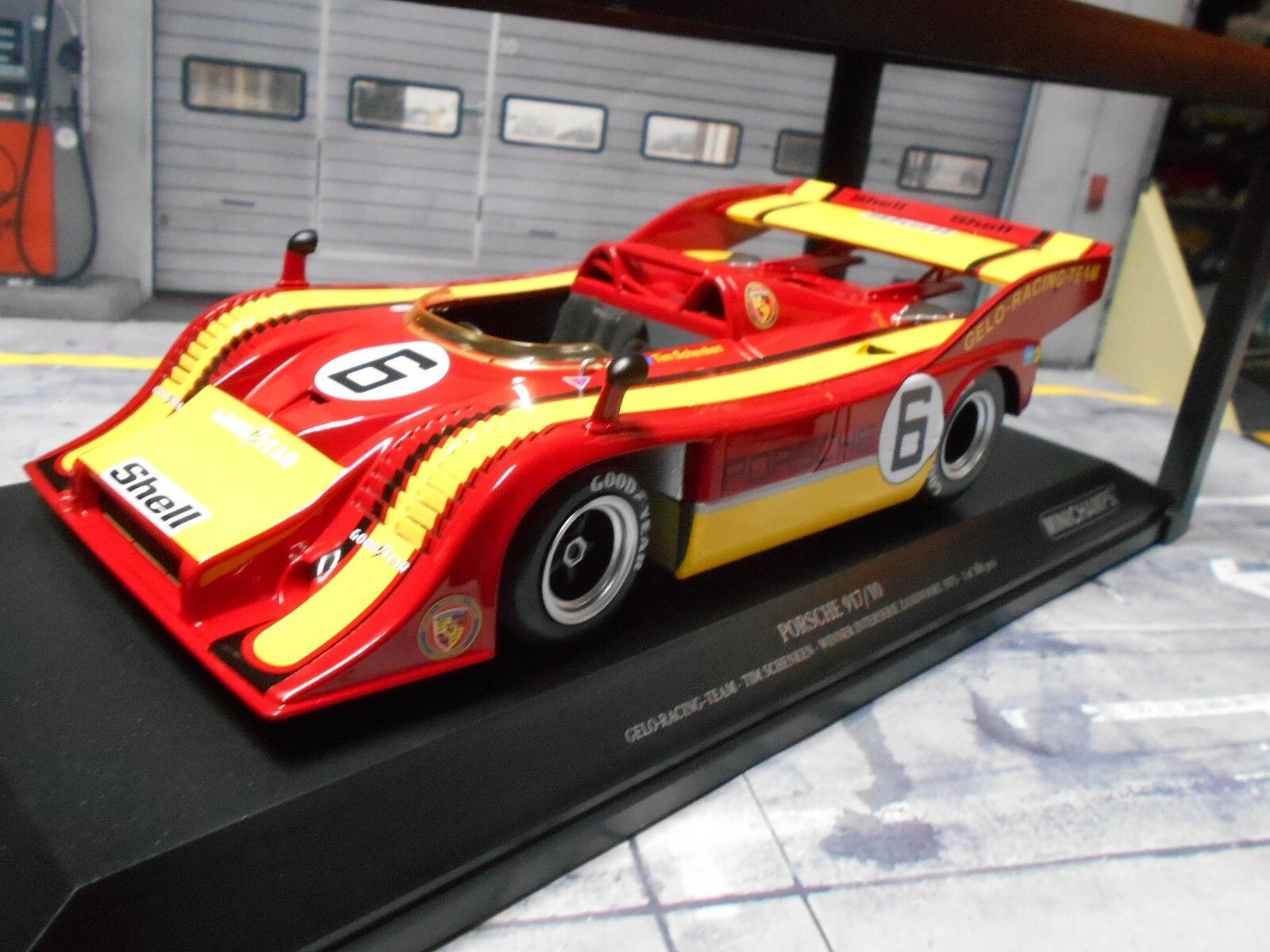 Porsche 917 917 10 Spyder ensuspens  6 Cadeau à Zandvoort 1975 Winner MINICHAMPS 1 18
