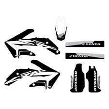 Honda CRF450x 2005-2017 Semi Custom Black Stock graphic kit FREE SHIPPING!!!