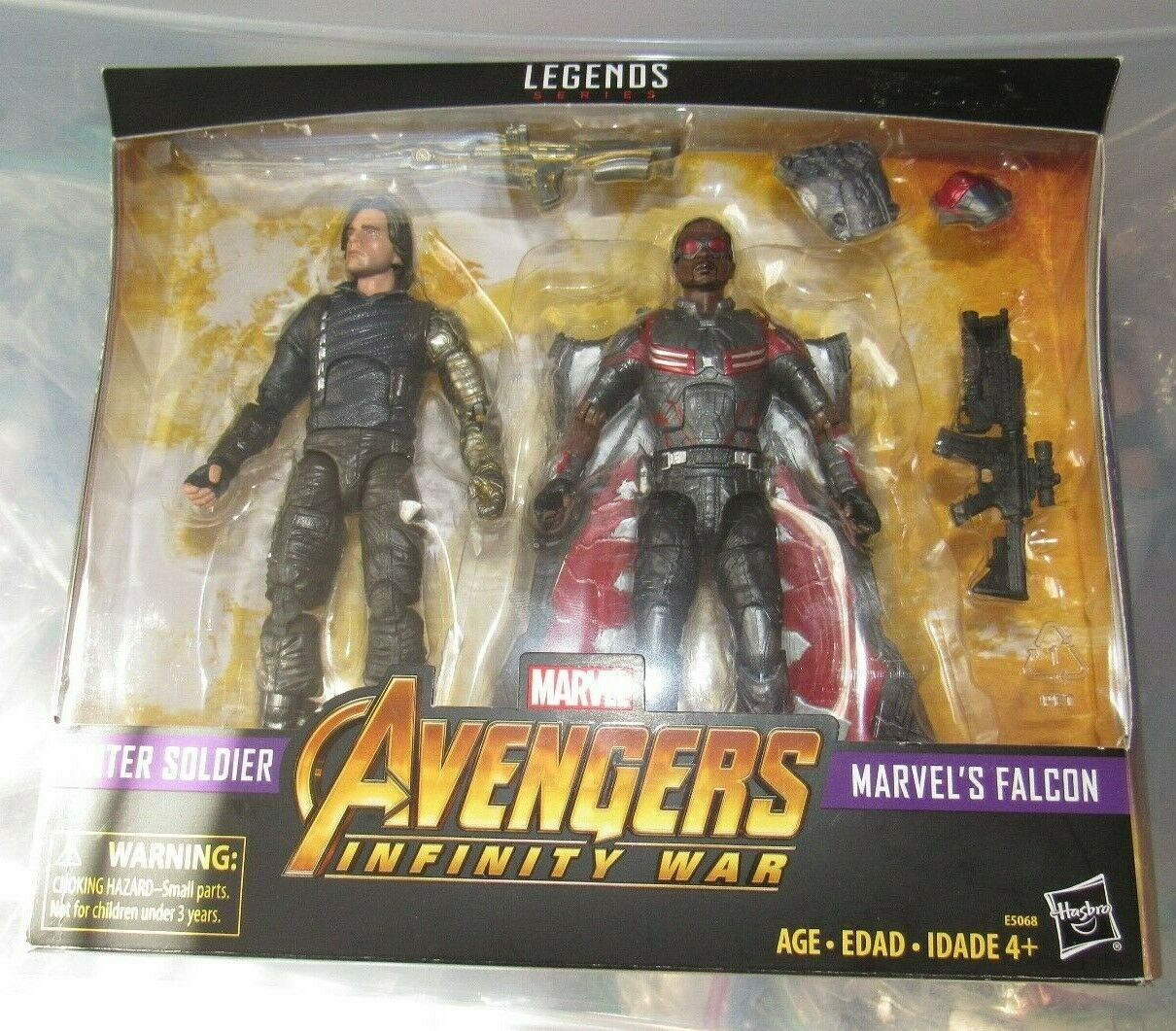 Marvel Legends 6  figure Falcon & Winter Soldier Infinity War Target NEW