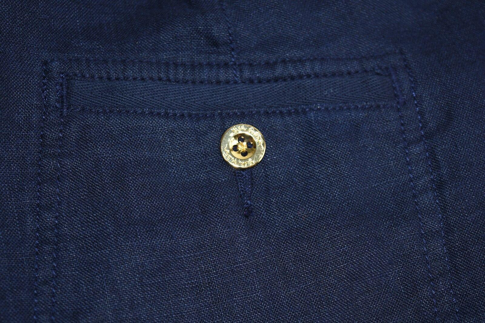 Lilly Pulitzer Galley Hose Wahre Marineblau Hose Hose Hose Leinen 0 2 4 10 12 14 | Online Kaufen  | Lebendige Form  | Hohe Qualität Und Geringen Overhead  228161