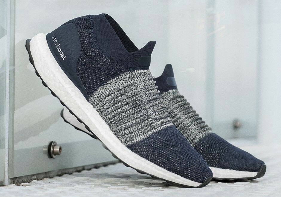 New Adidas Originals Ultraboost Ultra Boost Laceless Legend Ink PK BB6135 Men