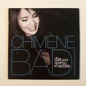 CHIMENE-BADI-DIS-MOI-QUE-TU-M-039-AIMES-de-LARA-FABIAN-PROMO-CD-Single