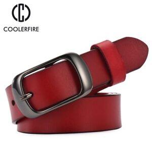 Luxus-Echt-Lederguertel-Designer-Retro-Jeans-Freizeit-Geschenke-fuer-Sie-Damen