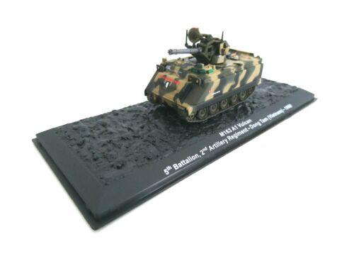 M163 A1 Vulcan 1969  1:72 MILITÄR FAHRZEUG KAMPFPANZER PZ-WW2 PANZER-A15