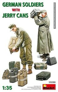 Miniart-35286-1-3-5-Allemand-Soldats-W-Jerry-Cans-Neuf