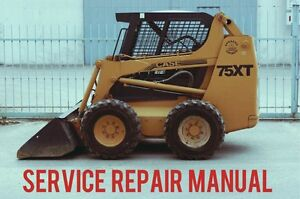 best case 75xt skid steer loader workshop service repair workshop rh ebay com Case 75XT Problems Case 75XT Skid Steer Loader