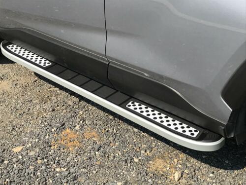Range Rover Evoque 2011 Pedane Sottoporta Barre Laterali in Alluminio