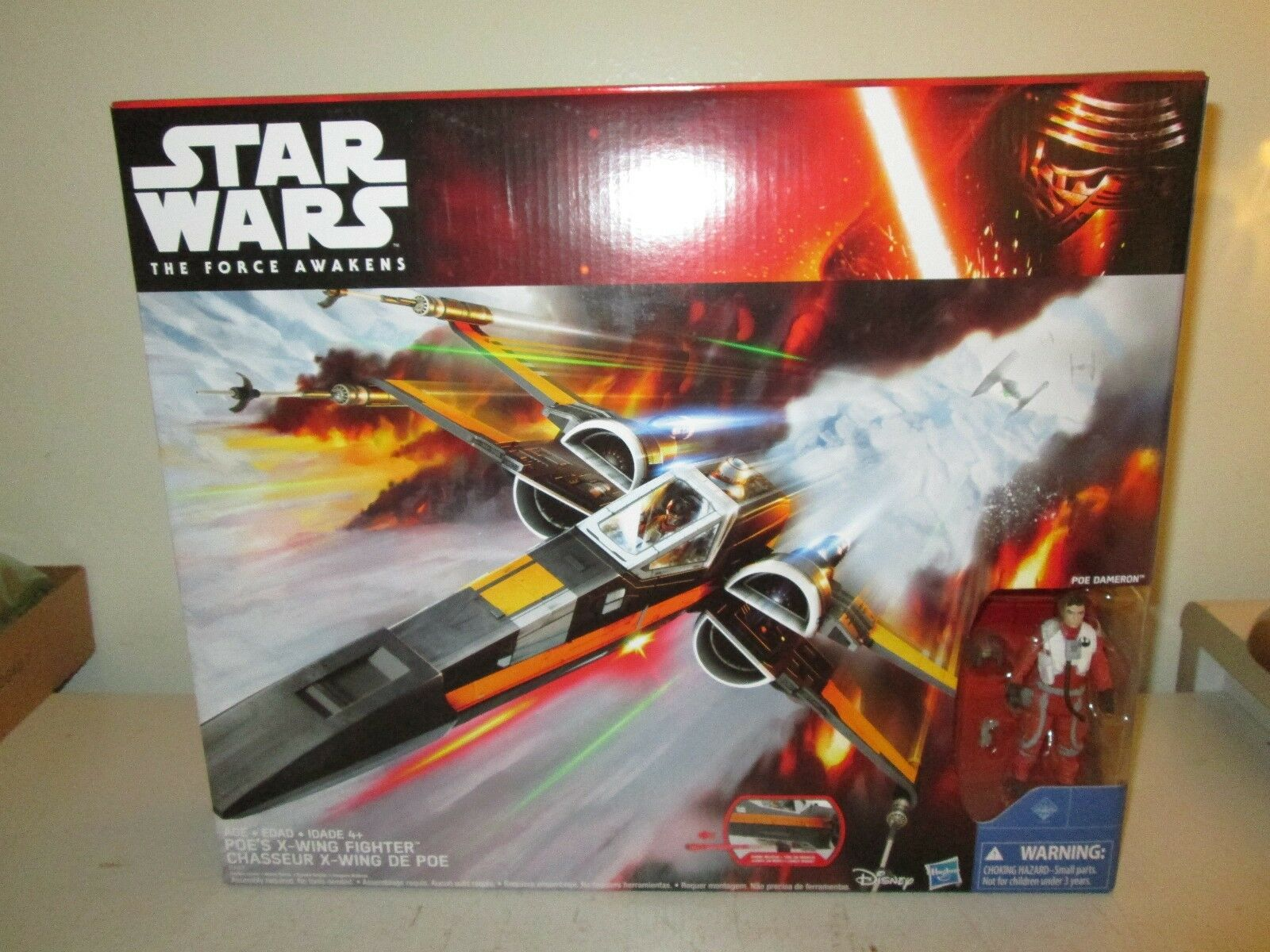 Hasbro Star Wars The Force Awakens Poe Dameron's X-Wing New