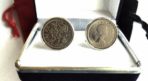 Seis Peniques Monedas de plata en Gemelos todos los años de 1928 a 1967 b5 disponible