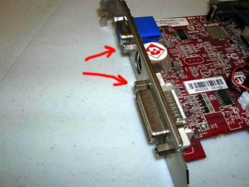 50 x  4-40 Jackscrew Standoff Hex D-Sub Video Card Screws VGA DVI DB9 Jack screw