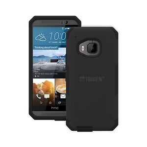 MEW-TRIDENT-Cell-Phone-Case-for-HTC-M9-Aegis-New-in-Packaging-Black