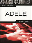 Really Easy Piano Adele 9781785582233 Paperback 2016