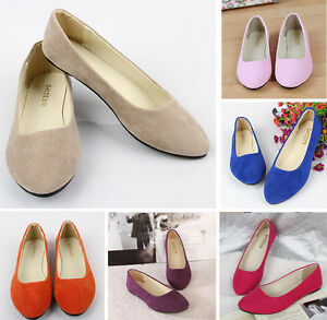 Women-039-s-Shoes-Ballet-Flats-Plus-Size-43-Casual-Low-Heel-Sapatos-Womens-Loafers