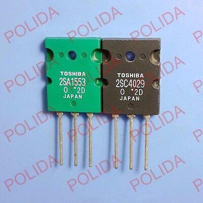 1 par o 2PCS TOSHIBA TO-3PL 2SA1553-O//2SC4029-O 2SA1553//2SC4029 A1553//C4029