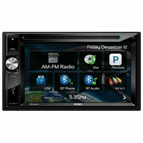 Jensen Double-DIN A//V Navigation Receiver with Built-in Bluetooth *New Model*