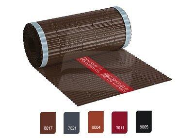 Firstrolle Gratrolle Rollfirst Gratband grundpreis:2,38€/m Gut Ausgebildete 5,0m Voll Aluminium