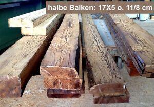 Details zu optisch alte Holzbalken, Balken, halbe Balkenstärke,, Altholz,  Balkendecke
