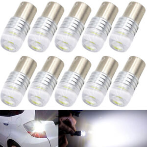 10Pcs COB 1156 BA15S P21W Car LED Lights Indicator Turn Bulb Top Reverse Si G4Q0