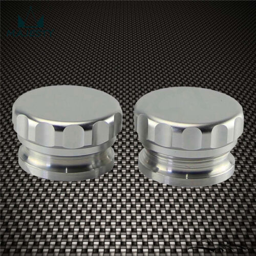 "2Pcs 1.5/"" 38.1mm Aluminium Weld On Filler Neck And Cap Oil Fuel Water Tank"